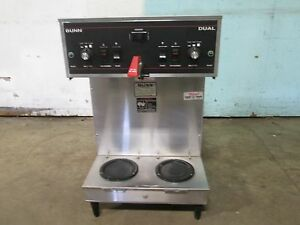 bunn Dual 20900 0017 hd Commercial nsf s s dual Coffee Brewer Machine 120 208v
