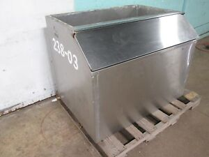 king Seeley Kst Thermos Co Sb 60 Hd Commercial nsf Open top Ice Storage Bin