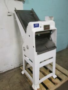 oliver 797 H d Commercial Gravity Fed Free Standing Bread Slicer Machine