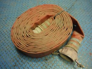 Used 3 In X 50 Ft Trash Pump Water Lay Flat Discharge Hose