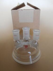 New In Box Lab Glass Reaction Vessel Top 4 Neck Lg8031 100