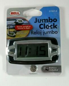 Bell Automotive 37007 8 Jumbo Lcd Dash Clock New
