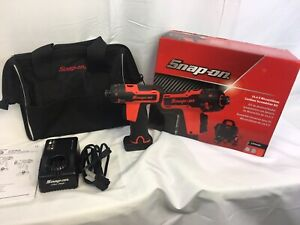 Snap On Cts761ao Hex Microlithium Cordless Screwdriver 14 4v Kit Free Shipping