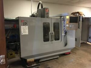 2009 Haas Tm 1p Vertical Machining Center 4th Axis Probe 157 Hours