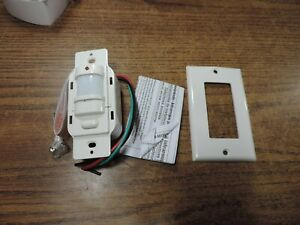 Hubbell Ws120w Passive Infrared Wall Switch H moss Sensor