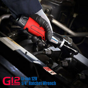 Acdelco 1 4 Ratchet Wrench G12 Cordless 30 Ft lbs Arw1207 Tool Only
