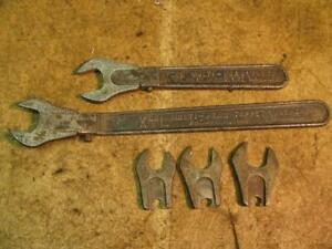 Vintage Park Metalware Co Xcel Multi Head Wrenches 1 2 9 16 5 8 11 16 Tappet