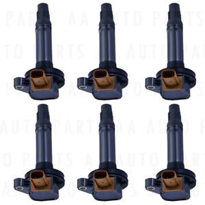 Set Of 6 Ignition Coil Uf646 For Ford F 150 Explorer Expedition Taurus V6 3 5l