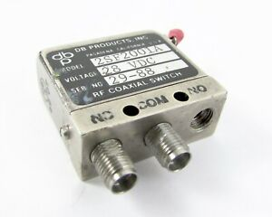 Db Products 2sf2001a Rf Coaxial Switch 28 Vdc Sma Female