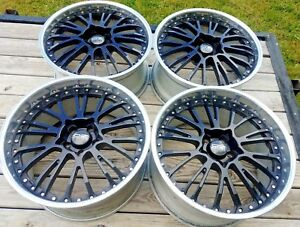 20 Oz Botticelli Iii Wheels 5x114 3 Vip 3pc Volk Rays Work Ccw