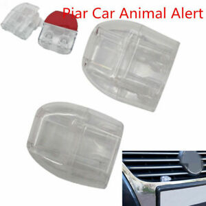 2deer Whistles Wildlife Warning Devices Animal Alert Car Safety Accessories Newd