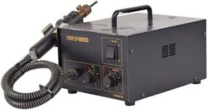 Hakko 850 Portable Hot Air Soldering desoldering Smd Rework Station As is