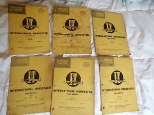 International Harvester Tractor Shop Manual Bulk Lot 330 b 275 100 340 460 560