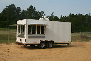 2019 Concession Trailer Mobile Kitchen 8 5 X 18