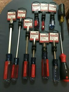 Lot Of 11 Screwdrivers Craftsman Wiha Klein Craftsman Wiha Are All Brand New