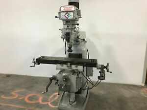 Clausing Kondia Fv 1 Milling Machine 9 x 42 Table X And Y Axis Power Feed