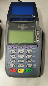 Verifone Vx510 Credit Card Terminal With Power Supply