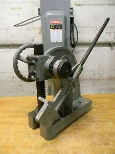 Interstate 2 Ton Manual Ratcheting Arbor Press 1 7 8 Ram 5 15 16 Throat