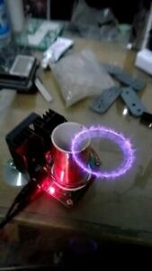 Tesla Coil Mini Music Plasma Horn Science And Technology Scientific Experimental