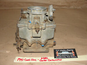 Oem 1951 51 Cadillac 331 Engine 2 Barrell 2bbl Carter Wcd Carburetor Carb Core