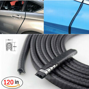 120 Car Door Seal Strip Rubber Weatherstrip Protector Edge Trim Guard Pinchweld
