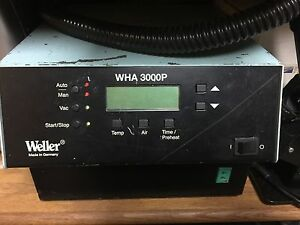 Weller Wha3000p Digital 700 W Hot Air Station With Built In Turbine