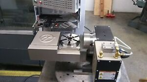 Haas Trt 160 Compact Tilting Rotary Table Adds 4th And 5th Axis