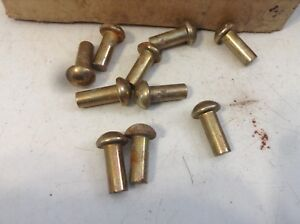 70910520 New Package 10 Rivet 1 4 X 5 8 For A White 6184 8346 8516 Planter