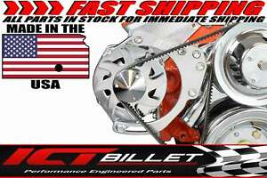 Sbc Alternator Bracket For Double Hump Heads bolts To Water Pump Only
