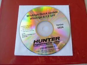 Hunter Alignment Winalign Quick Update Dvd Winaling 8 1 2 Sp1 Version 0604