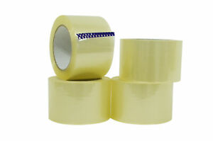 Wod Heavy duty Clear Packing Tape 3 In X 110 Yards Per Roll