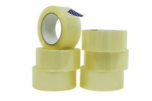 Wod Heavy duty Clear Packing Tape 2 In X 110 Yards Per Roll