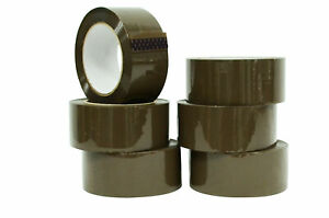 Wod Heavy duty Tan Packing Tape 2 In X 60 Yds Per Roll