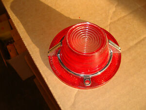 1962 Chevy Impala Guide Nos Back Up Light Lens With Ornament