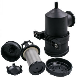 Pro 200 Vent Oil Catch Can Stainless Filter For 4wd Ford Ranger Mazda Toyota