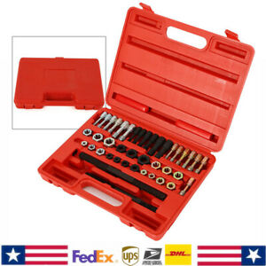 Tap And Die Set threading Tool 40x Thread Strength 19 Tappings Two Threaded File