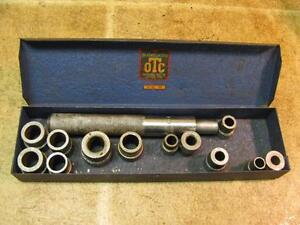 Vintage Otc 818 Bushing Driver Set Partial Owatonna Tool Co