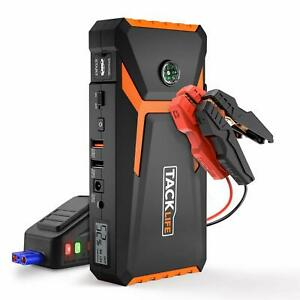 Tacklife T8 Car Jump Starter 800a Peak 18000mah 12v Auto Battery Booster Up