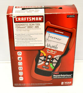Craftsman 18655 5100 Obd2 Abs Code Reader Diagnostic Scanner