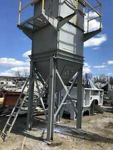 Dust Collector Bag House W Air Pulse 100 Bags 4 x96 Bags