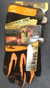 Clc Work Gear L205xl Lighted Safety Work Gloves W 2 Light Modes Large New
