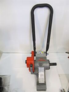 Ridgid 916 Power Driver Roll Groover 1 1 4 6 Pipe 2 6 Copper