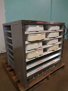 H K Commercial 12 Compartments Heating holding Pass Through Food Warmer