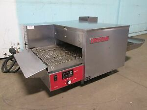 blodgett Commercial H d 1ph Electric Conveyor Pizza Oven W digital Read Out