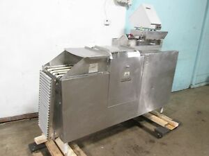 hobart Hd Commercial Conveyor Meat Wrapping packing Machine W label Printer