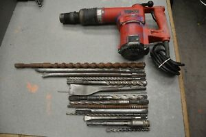 Hilti Te 72 Rotary Hammer Drill With Lots Of Bits Very Nice Condition Free S h