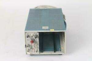 Tektronix Tm503 Modular Frame With 1x Am 502 Differential Amplifier