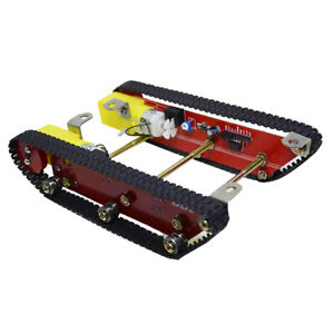 Alloy Robot Tank Crawler Tracked Car Chassis W Motor Arduino Diy Educational