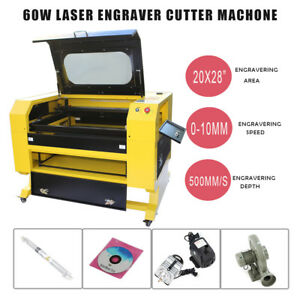 New 60w 110v Co2 Laser Engraving Machine Engraver Cutter W Usb Interface Edy