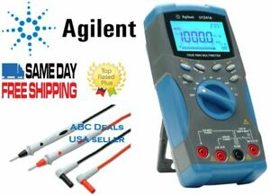 Agilent U1241a True Rms Digital Mutlimeter Agilent Test Leads Usa Seller Fluke